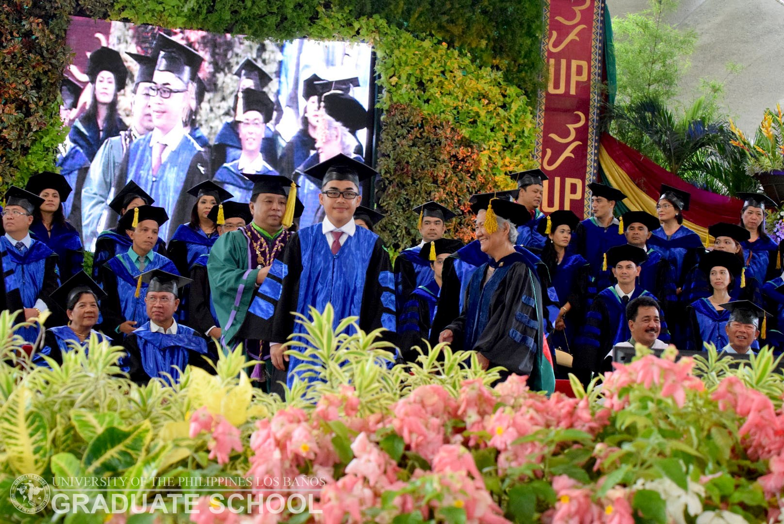 UPLB GRADUATE SCHOOL 11th HOODING AND RECOGNITION CEREMONIES