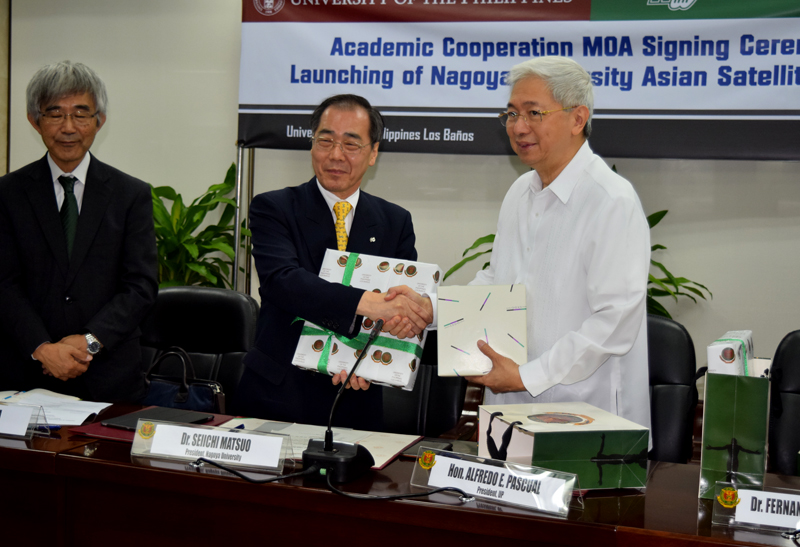 MOA signing and launching of Nagoya University Asian satellite campus
