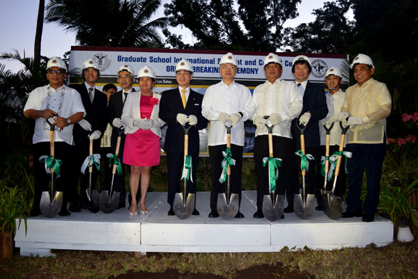 Graduate School Ground Breaking Ceremony