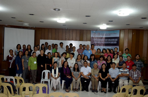 Workshop on Graduate Program Innovation 2015